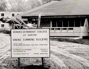 Women's Coordinate College at Kenyon - Dining Commons Construction Sign