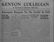 June 19 1946 Collegian Cover