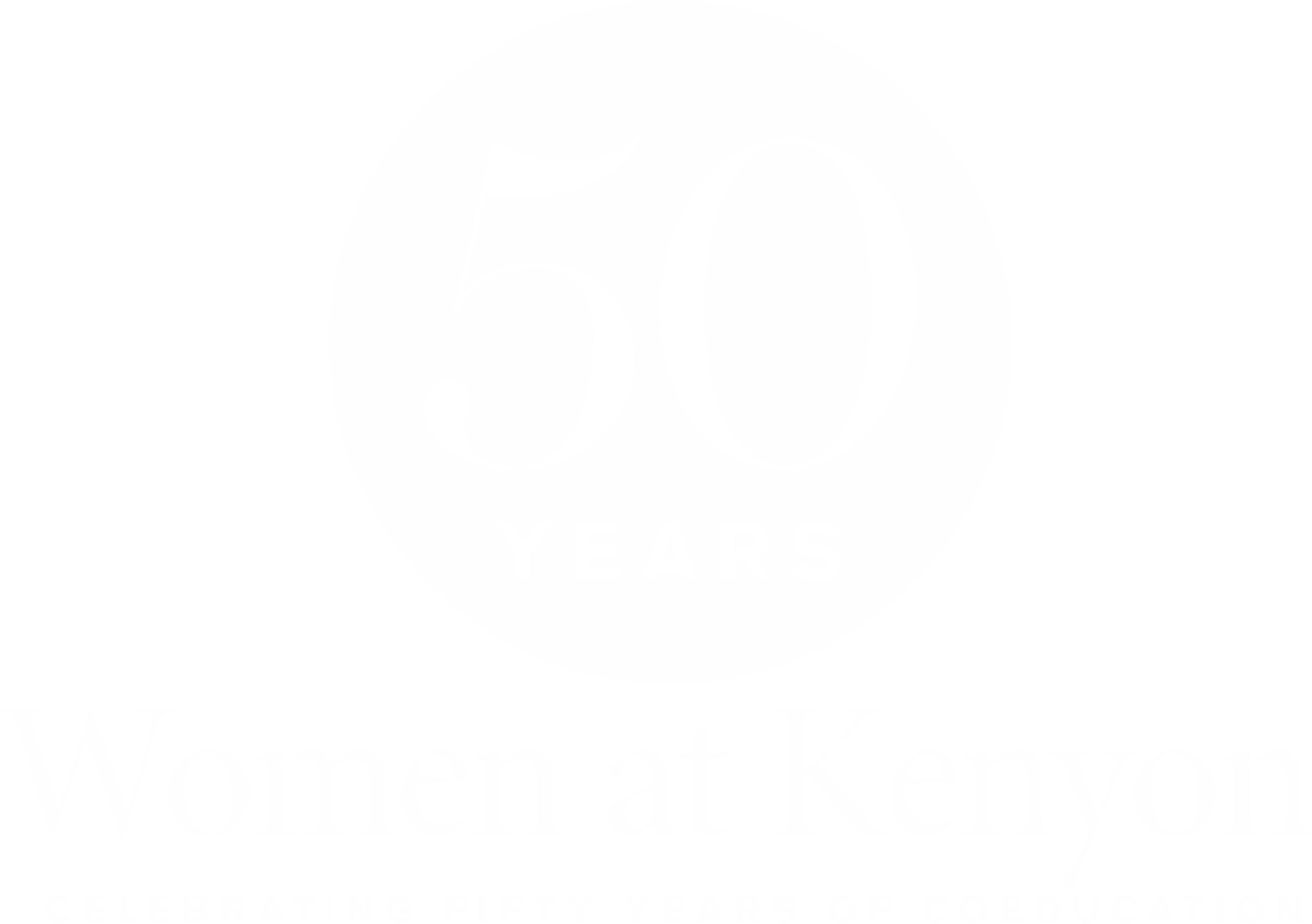Women at Kenyon 50 Years